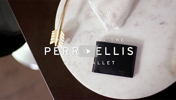 The Perry Ellis Chipolo Tech Wallet - SHOP NOW