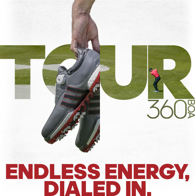 new concept 7e72f 3b1db Adidas: Dial In. adidas Golf Introduces the TOUR360 EQT Boa ...