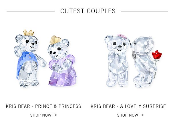 ef5e5fa0b Swarovski: The Kris Bear family grows for Valentine's Day + On time ...