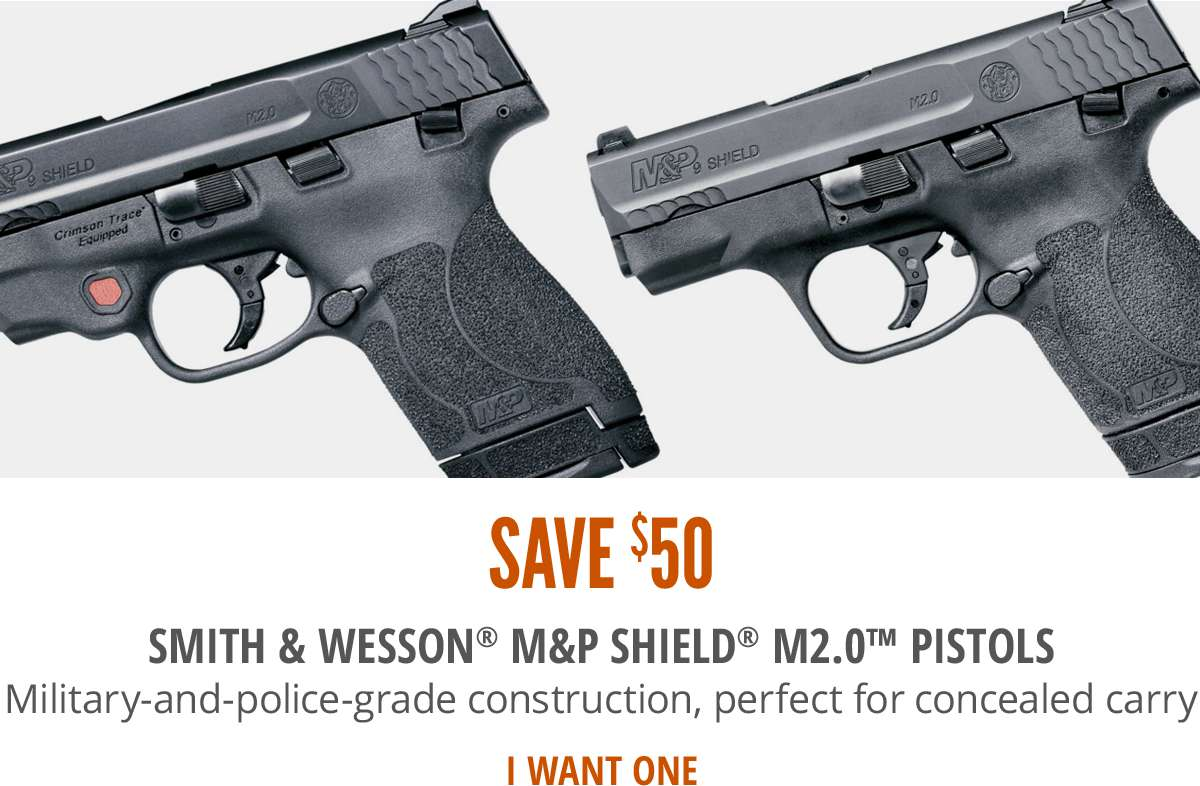 Save $50 on S&W Shield