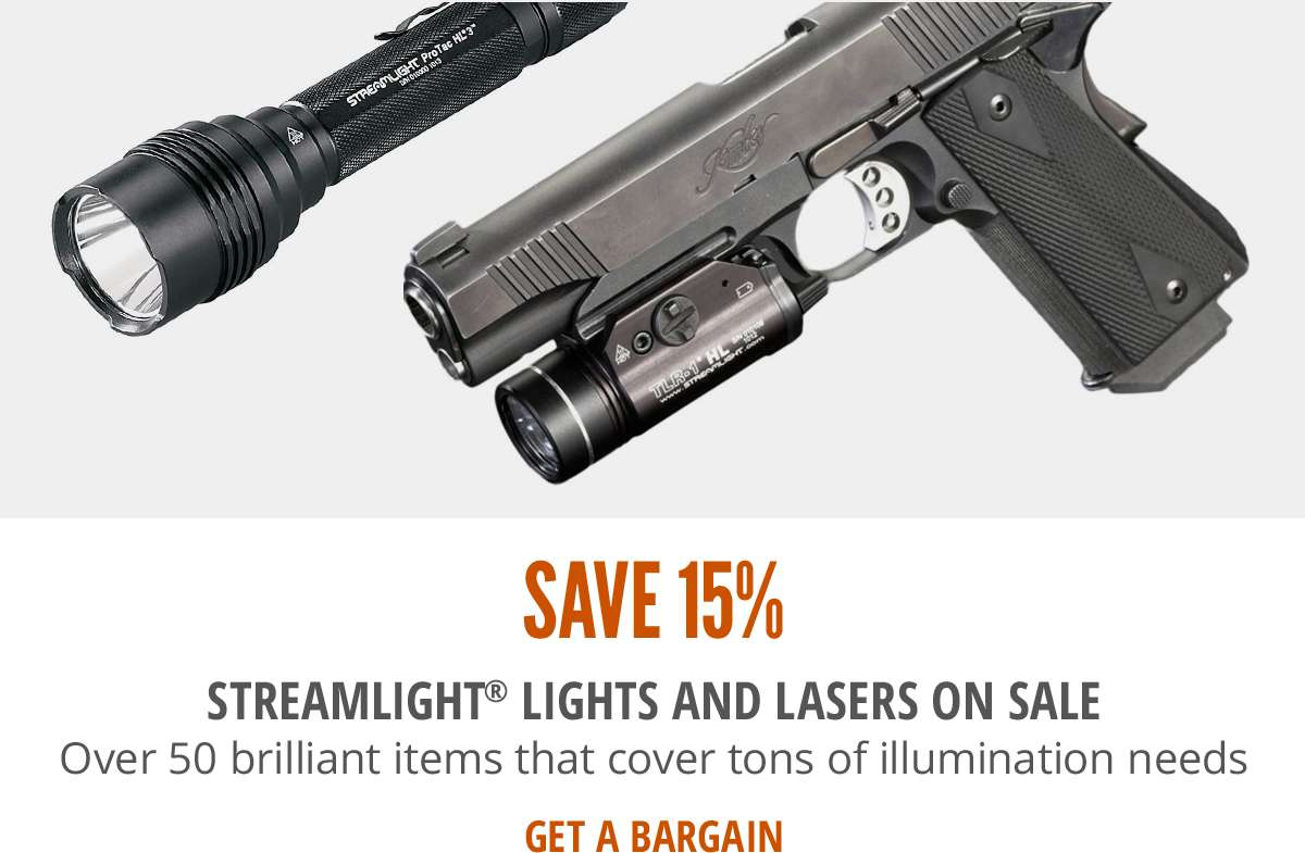 Save 15% on Streamlight