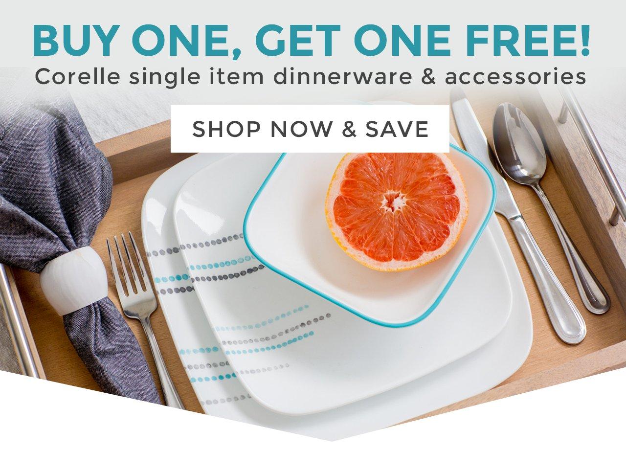 Corelle Single Item Dinnerware u0026 Accessories. Today Only & Corelle: Dinnerware u0026 More - Buy One Get One FREE | Milled