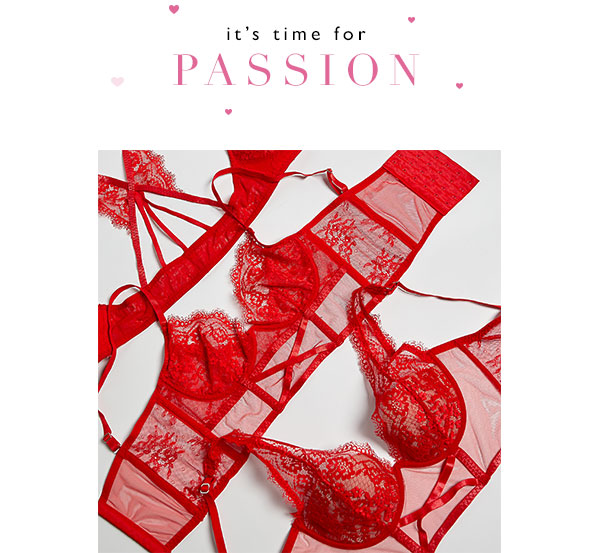 2a42800e46121 Intimissimi  Red and sensual  Valentine s lingerie is here
