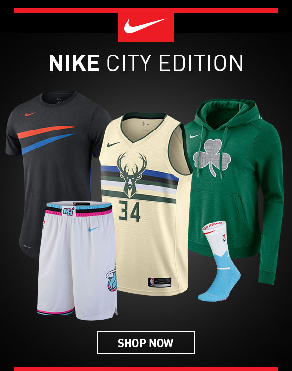 The NBA Store: The Uniforms Made to Honor the Fans - Nike City Edition |  Milled