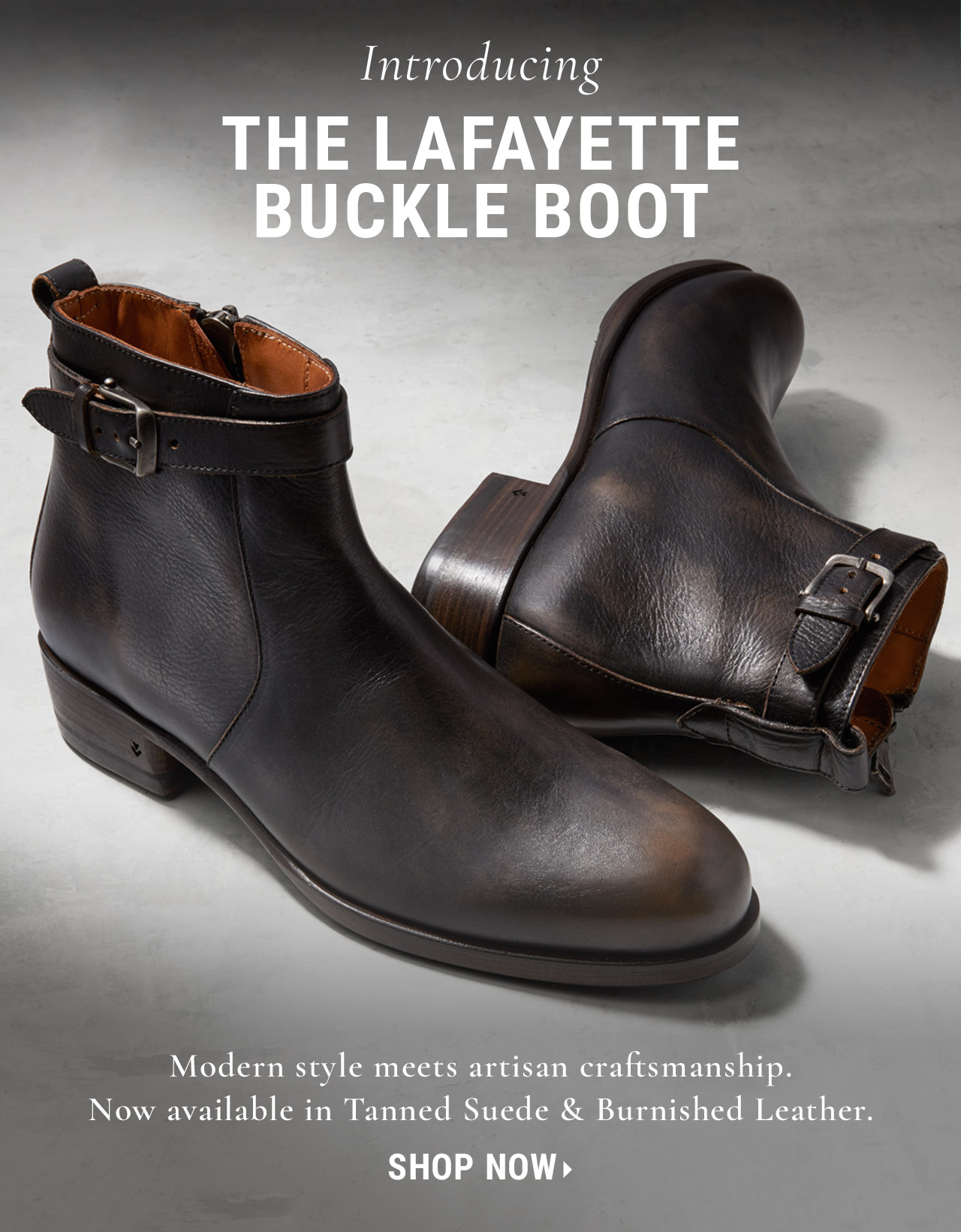 Lafayette Buckle Boot John Varvatos Collection soYHNwS