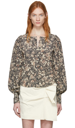 Isabel Marant - Black Berny Blouse