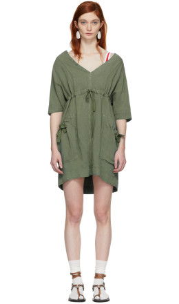 Isabel Marant Etoile - Khaki New Flou Wendell Dress