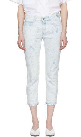 Stella McCartney - Blue Skinny Boyfriend Jeans
