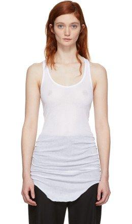 Isabel Marant Etoile - White Jersey Tank Top