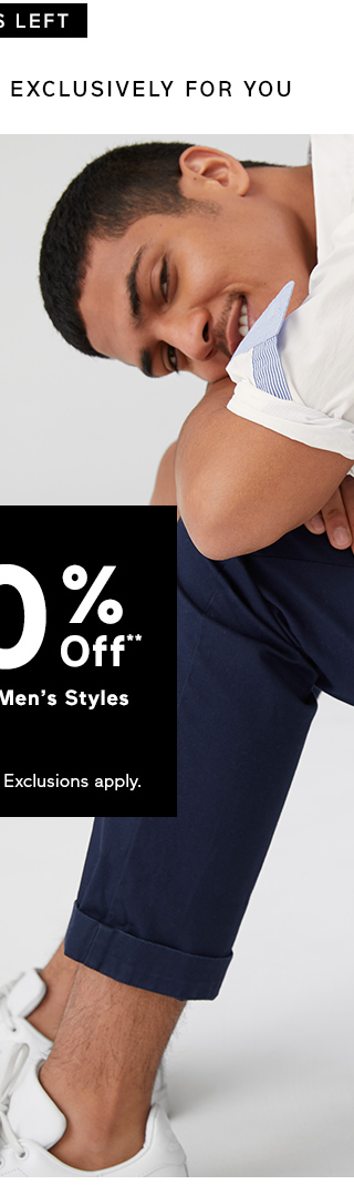 UP TO 40% Off** Womens & Mens Styles