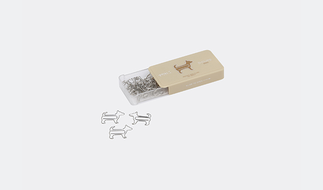 Dog paperclips by Midori