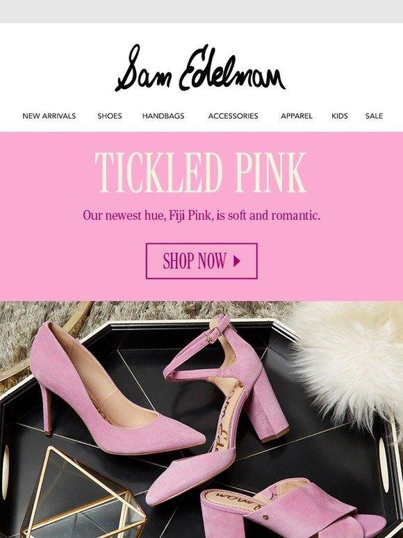 Sam Edelman: Think (Tropical) Pink | Milled
