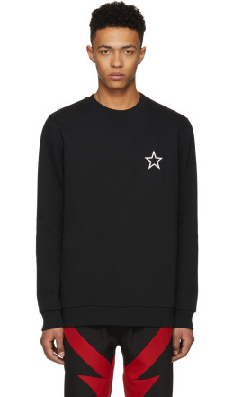 Givenchy - Black Star Sweatshirt