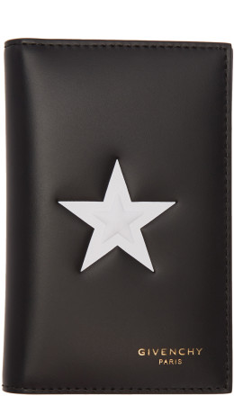 Givenchy - Black Star 6CC Card Holder