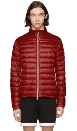 Moncler - Red Down Daniel Jacket
