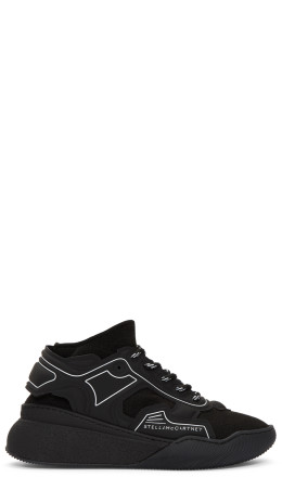 Stella McCartney - Black Glueless Sneakers