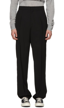 Stella McCartney - Black 'Intoxication' Dune Trousers