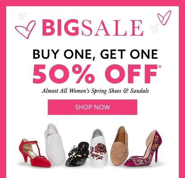 OFF Spring Shoes \u0026 Sandals for Her