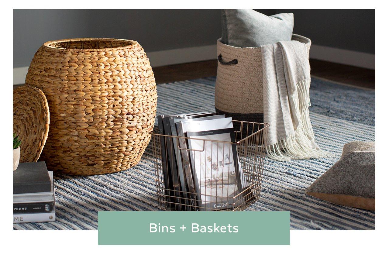 Bins and Baskets