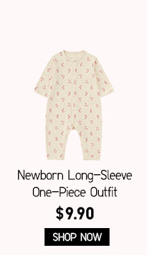 Newborn Long-Sleeve One-Piece Outfit - SHOP NOW
