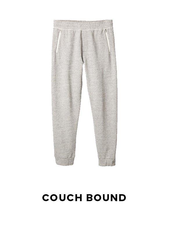 COUCH BOUND