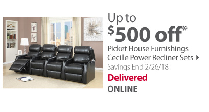 Picket House Furnishings Cecille Power Recliner Sets