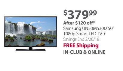 Samsung UN50M530D 50 1080p Smart LED TV