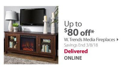 W.Trends Media Fireplaces