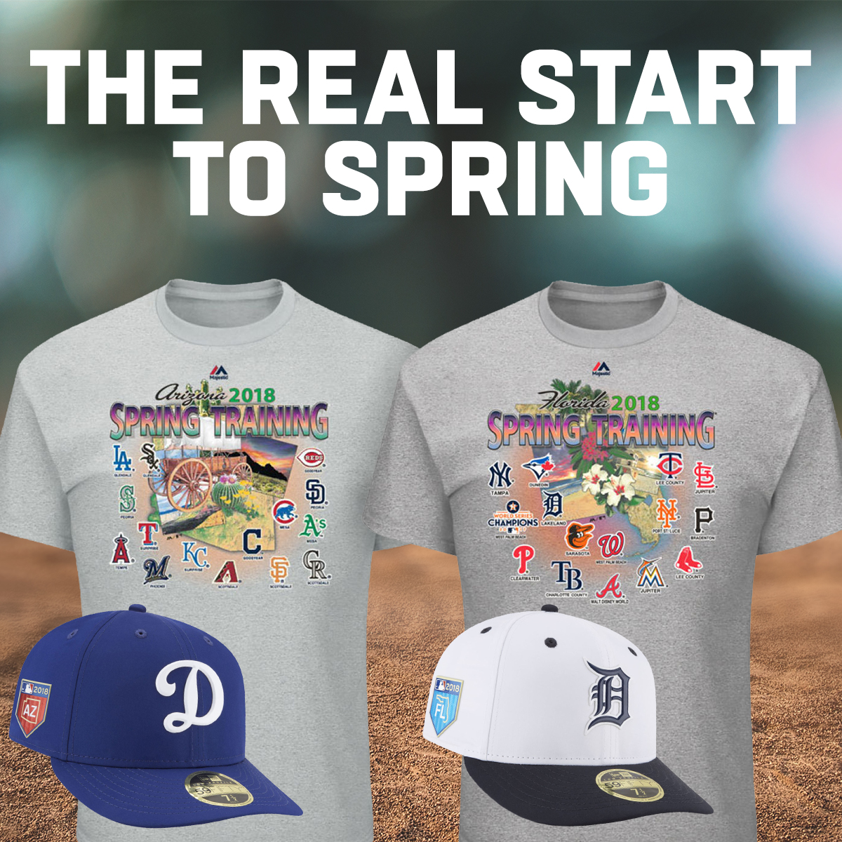 41ad322168c07a Help your team reach their peak performance before the season starts by  supporting them during spring training. Shop here now for some brand new  2018 ...