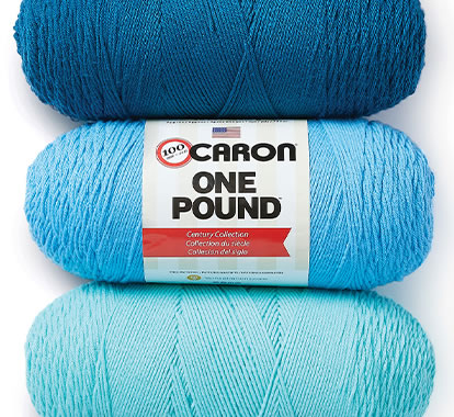 Caron One Pound Yarn.