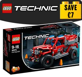 LEGO 42075 Technic First Responder