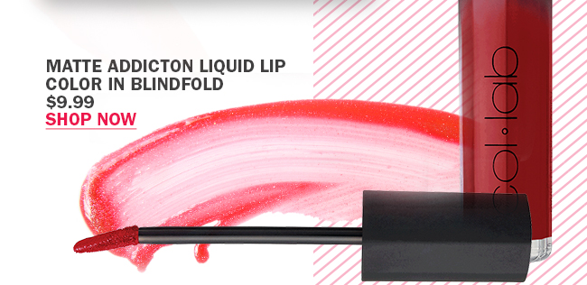 COL-LAB Matte Addiction Liquid Lip Color in Blindfold