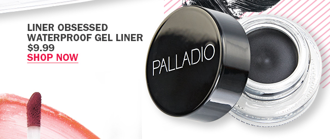 Palladio Liner Obsessed Waterproof Gel Liner