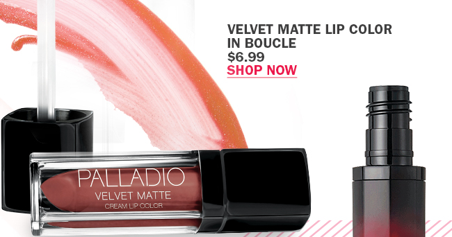 Palladio Velvet Matte Lip Color in Boucle
