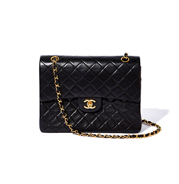 What Goes Around Comes Around Chanel Vintage 2.55 Lambskin Bag $3,500