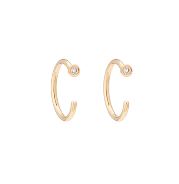Ariel Gordon Dust Hoops $265