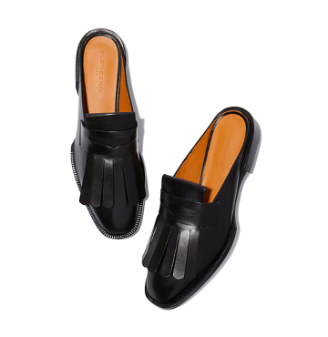 Clergie Yum Leather Slides $635