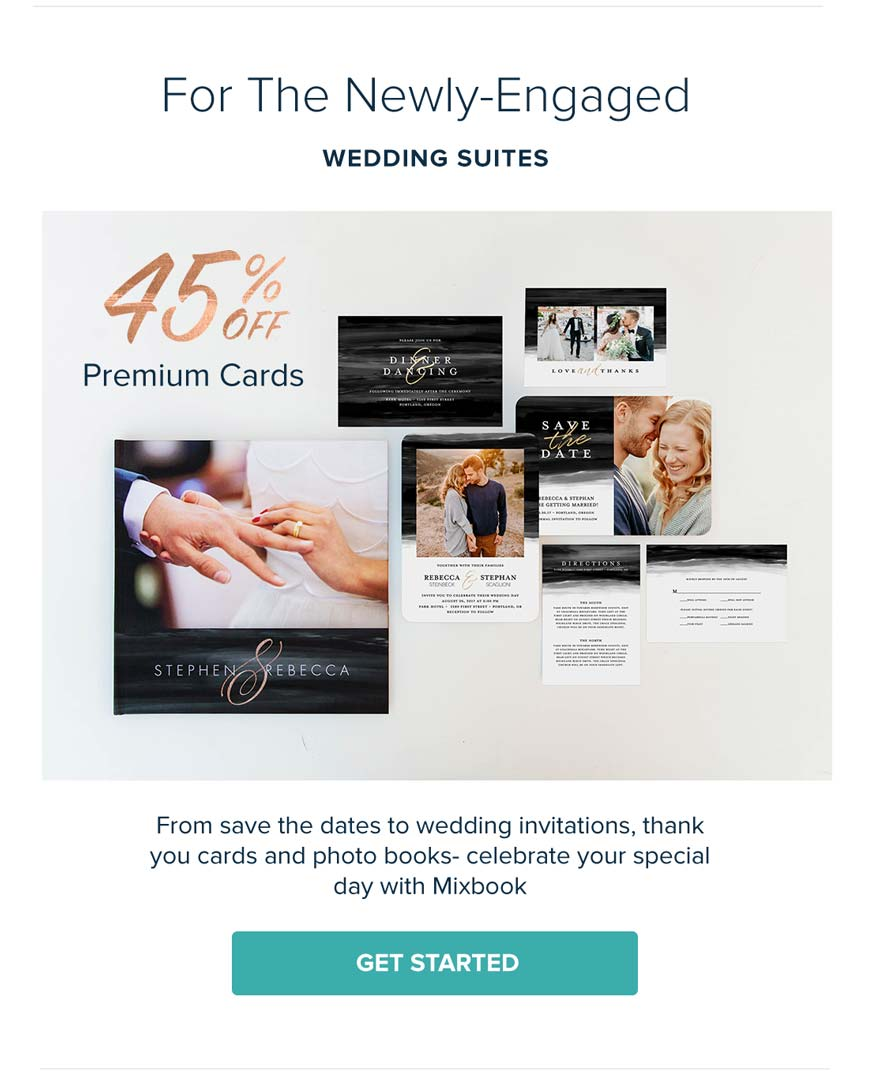 Mixbook Photo Co.: Your invitation awaits: 45% OFF at our Friends ...