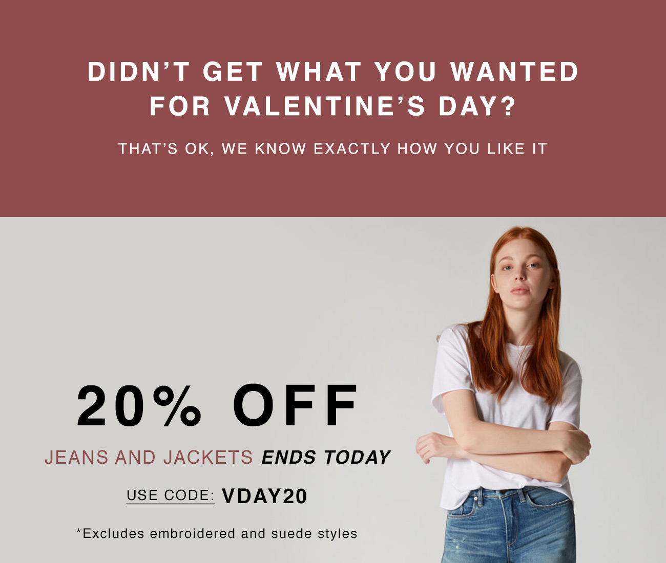 Didn't Get What You Wanted for Valentine's Day?