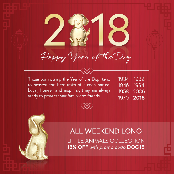 Alex Woo: Celebrate the Year of the Dog with 18% Off
