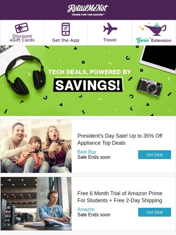 RetailMeNot: 📱 Free iPhone 7 | Amazon | BOGO Free Peppermint ...