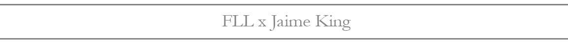 Shop FLL x Jaime King