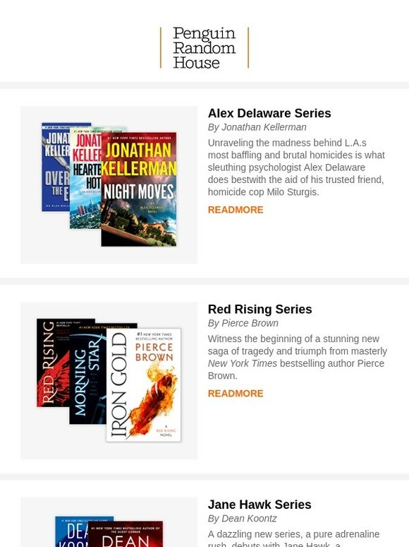 Random House: A Series of Unputdownable Reads | Milled