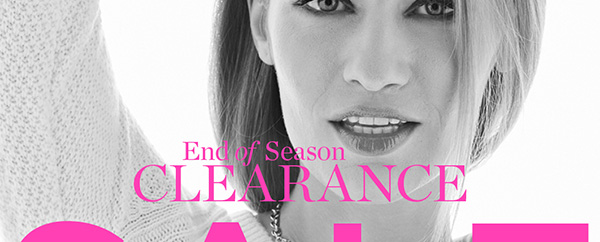 End of season clearance sale up to 80% off original prices. Shop Sale