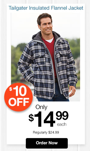 Tailgater Insulated Flannel Jacket