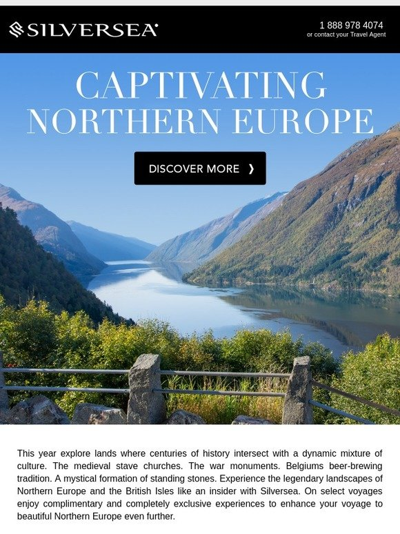 Silversea Exclusive Access To Northern Europe