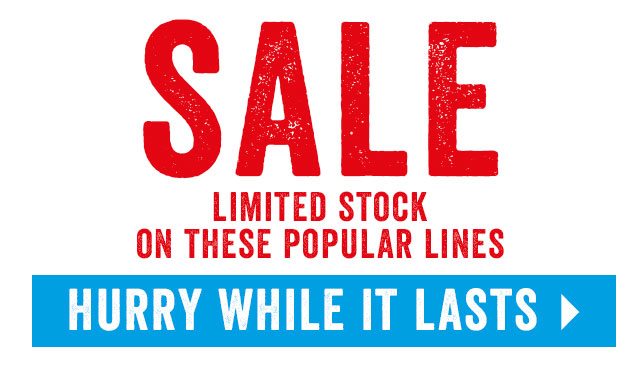 Sale - Limited Stock