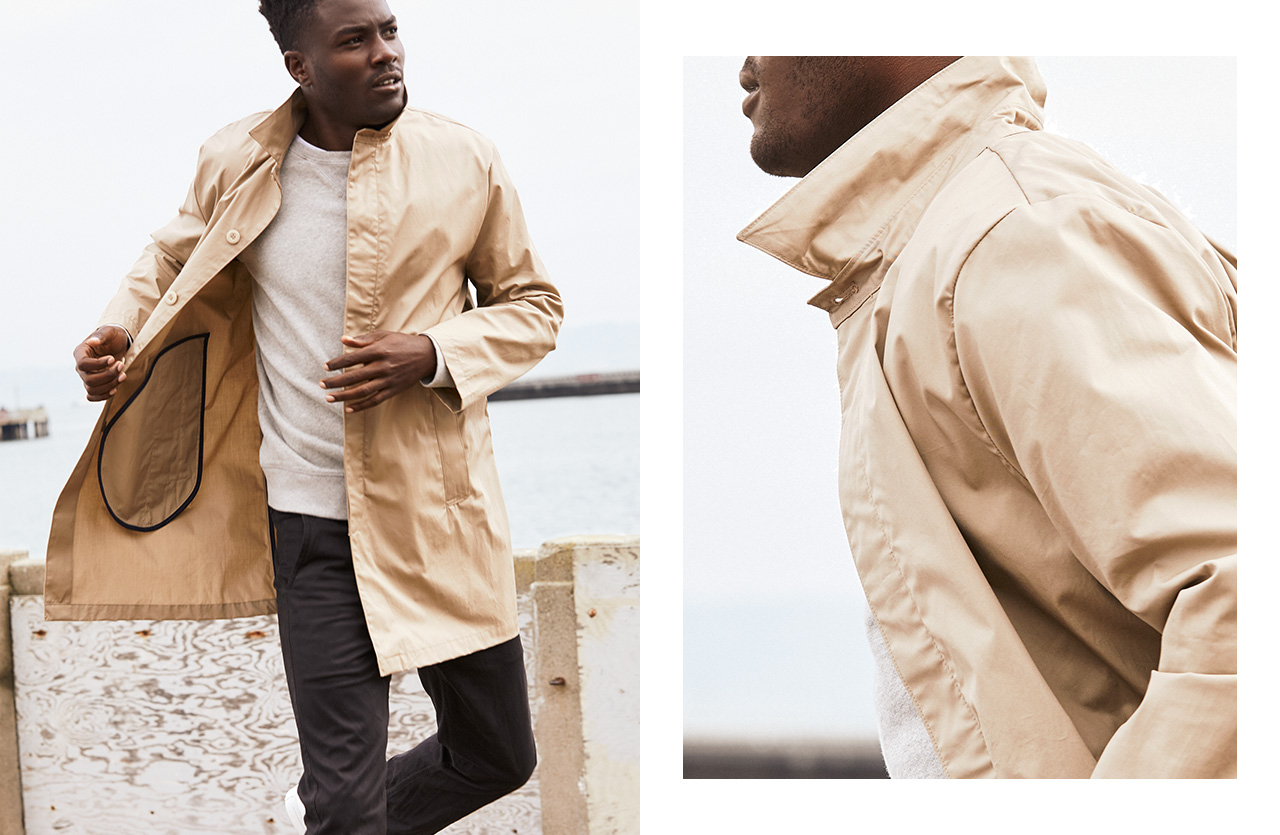 LAYER UP WITH THIS MAC TRENCH COAT. SHOP NOW!