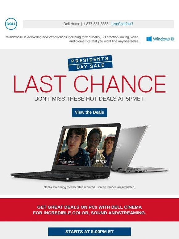 Dell: Last chance to save big on doorbusters! Score great deals on