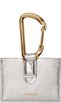 Sacai - Silver Card Holder